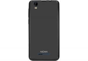 Силиконовый чехол-бампер для телефона Nomi (Номи) i5011 EVO M1 Черный