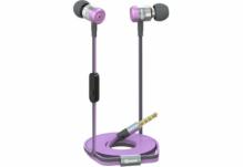 Наушники Nomi (Номи) NHS-103 Металлические Фиолетовые