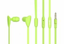 Наушники Nomi (Номи) NHS-105 Зеленые