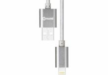 Кабель Nomi DCM USB-Lightning (Iphone 5/5s/6/6s) 1м Серебристый