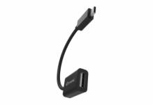 Адаптер/кабель Nomi OTG USB-micro 0,1м Черный