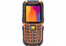Мобильный телефон Nomi (Номи) i242 X-treme Черно-Оранжевый
