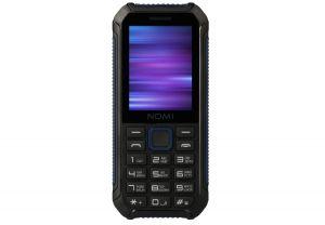 Мобильный телефон Nomi (Номи) i245 X-Treme Черно-голубой