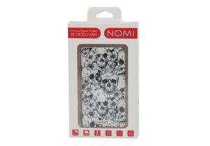 Универсальная мобильная батарея Nomi (Номи) P060 6000 mAh Череп с цветами