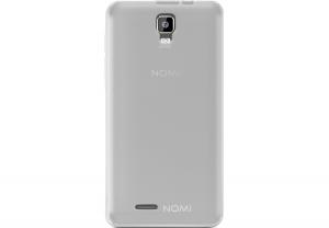 Силиконовый чехол-бампер для телефона Nomi (Номи) i4510 BEAT M Матовый
