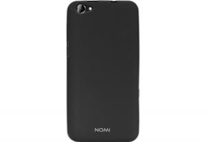 Силиконовый чехол-бампер для телефона Nomi (Номи) i5530 Space X Черный