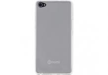 Силиконовый чехол-бампер для телефона Nomi (Номи) i506 Shine Прозрачный
