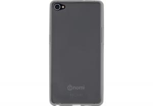 Силиконовый чехол-бампер для телефона Nomi (Номи) i506 Shine Черный
