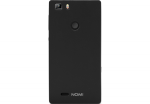 Силиконовый чехол-бампер для телефона Nomi (Номи) i5031 EVO X1 Черный