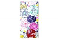 Силиконовый чехол-бампер для телефона Nomi (Номи) i5031 EVO X1 Розы