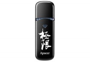 Флеш-память USB Apacer AH333 8GB Black with Chinese Character