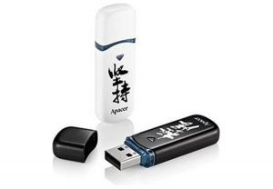 Флеш-память USB Apacer AH333 8GB White with Chinese Character