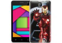 Силиконовый чехол-бампер для телефона Nomi (Номи) i4510 BEAT M Iron Man