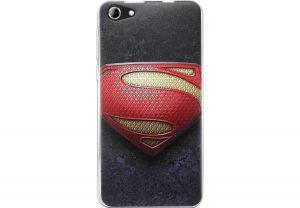 Силиконовый чехол-бампер для телефона Nomi (Номи) i5030 EVO X Супермен