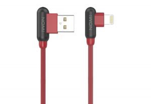 Кабель NOMI DCAQ USB-Lightning (Iphone 5/5s/6/6s) Red