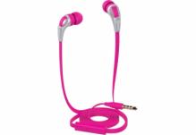 Наушники Nomi (Номи) NHS-102 Розовые