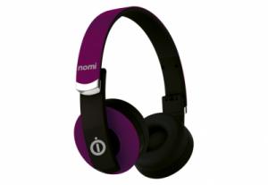 Беспроводные наушники Nomi (Номи) NBH-400 Фиолетовые