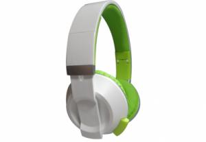 Наушники Nomi (Номи) NHS-201 Бело-Зеленые