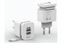 Зарядное устройство Nomi HC05213 2 USB Port (2.1A) White