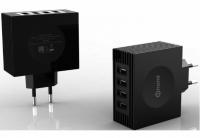 Зарядное устройство Nomi HC05424 4 USB Port (4.2A) Black