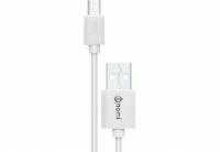 Кабель Nomi DC USB-micro 0,9м Белый