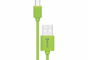 Адаптер/кабель Nomi DC 09m USB micro 0,9м Зеленый