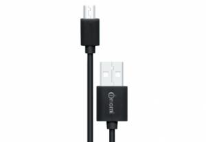 Кабель Nomi DC USB-micro 2m Черный