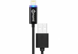 Кабель Nomi DCL USB-Lightning (Iphone 5/5s/6/6s) 1м Черный