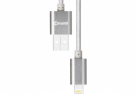 Кабель Nomi DCM USB-Lightning (Iphone 5/5s/6/6s) 1м Серебристый