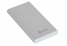 Универсальная мобильная батарея Nomi (Номи) M100 10000 mAh Серебристый