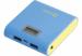 Универсальная мобильная батарея Nomi (Номи) B078 7800 mAh Желто-Голубой