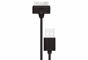 Кабель Nomi на Iphone4/4s 0,9м Черный