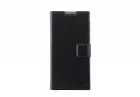 Чехол книжка для телефона Nomi (Номи) i508 Graphite Черный
