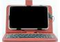 """Чехол-клавиатура для планшета 7"""" Бордовый"""