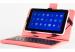 """Чехол-клавиатура NOMI для планшета 7"""" Розовый"""