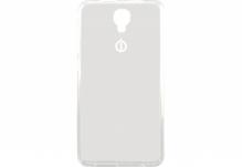 Силиконовый чехол-бампер для телефона Nomi (Номи) i504 Прозрачный