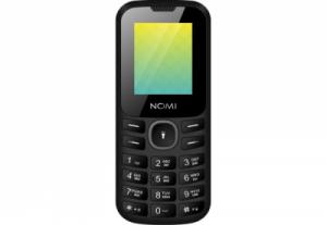 Мобильный телефон Nomi (Номи) i184 Черно-серый