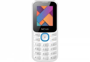 Мобильный телефон Nomi (Номи) i184 Бело-голубой
