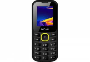 Мобильный телефон Nomi (Номи) i184 Черно-желтый