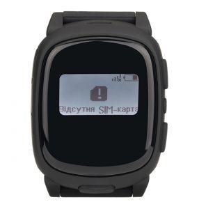 Детские смарт-часы Nomi (Номи) W1 Черные