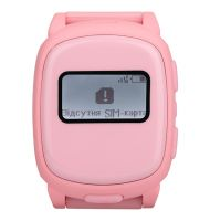 Детские смарт-часы Nomi (Номи) W1 Розовые