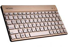Беспроводная клавиатура Nomi (Номи) KBB-302 Золотая