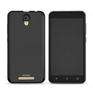 Силиконовый чехол-бампер для телефона Nomi (Номи) i5001 EVO M3 Черный