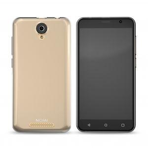 Силиконовый чехол-бампер для телефона Nomi (Номи) i5001 EVO M3 Серый