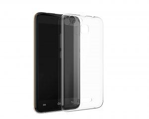 Силиконовый чехол-бампер для телефона Nomi (Номи) i5014 EVO M4 Transparent