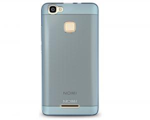 Силиконовый чехол-бампер для телефона Nomi (Номи) i5032 EVO X2 Синий