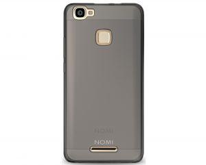 Силиконовый чехол-бампер для телефона Nomi (Номи) i5032 EVO X2 Серый