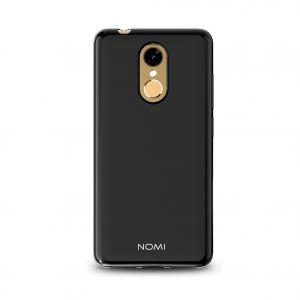 Силиконовый чехол-бампер для телефона Nomi (Номи) i5050 EVO Z Черный