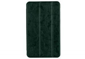 Чехол для планшета Nomi (Номи) C070012 Corsa 3 Зеленый с цветами