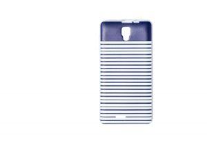 Силиконовый чехол-бампер для телефона Nomi (Номи) i4510 BEAT M Полосочки